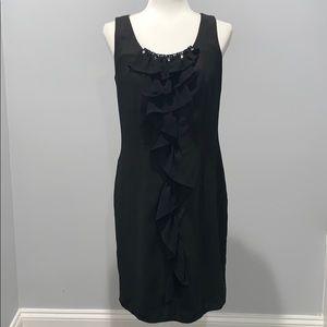 Nine West Stretch Black Dress Size 4